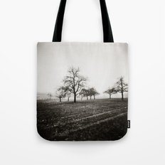 { skeleton trees } Tote Bag
