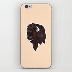 Geometrical Bison iPhone & iPod Skin