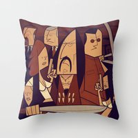 Machete Throw Pillow