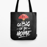 Go Big Or Go Home Mario … Tote Bag