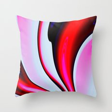 Abstract Fractal Colorwa… Throw Pillow