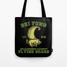Bei Fong Academy Flying Boars (Black) Tote Bag