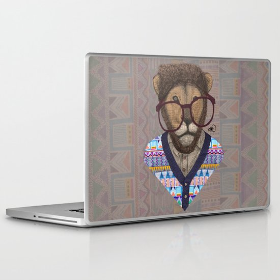 collaboration: Kris Tate and Börg Laptop & iPad Skin