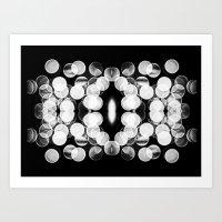 Bokeh Symmetry 2 Art Print