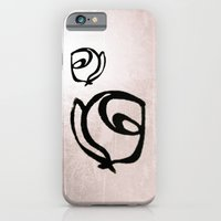 iPhone & iPod Case featuring Flowers, Mother-Daughter, Pink by Noelle Tru's Mom