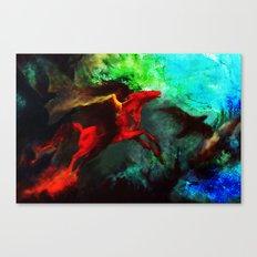Wind Göttin Canvas Print