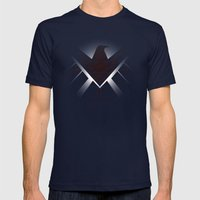 Hidden HYDRA – S.H.I.E.L.D. Logo Sans Wording Mens Fitted Tee Navy SMALL