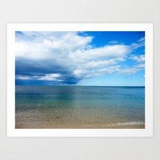 Storm Looming Art Print