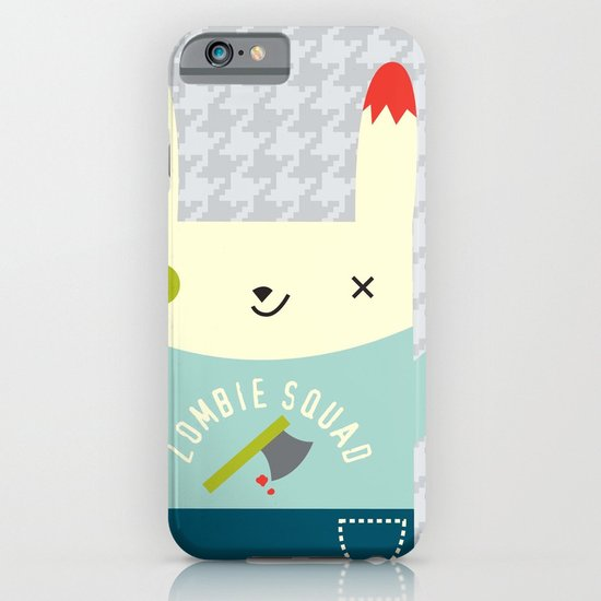 Zombie Bunny Patrol iPhone & iPod Case