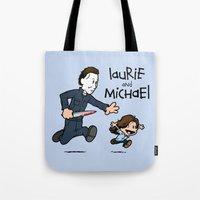 Laurie And Michael Tote Bag