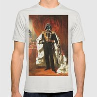 King Vader Mens Fitted Tee Silver SMALL