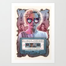 Electrick Children (full poster) Art Print