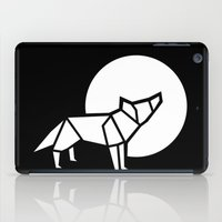 White Wolf iPad Case