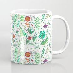 flowers watercolor Mug