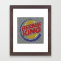 Bernie King Framed Art Print