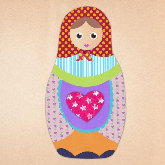 Love Russian doll Art Print