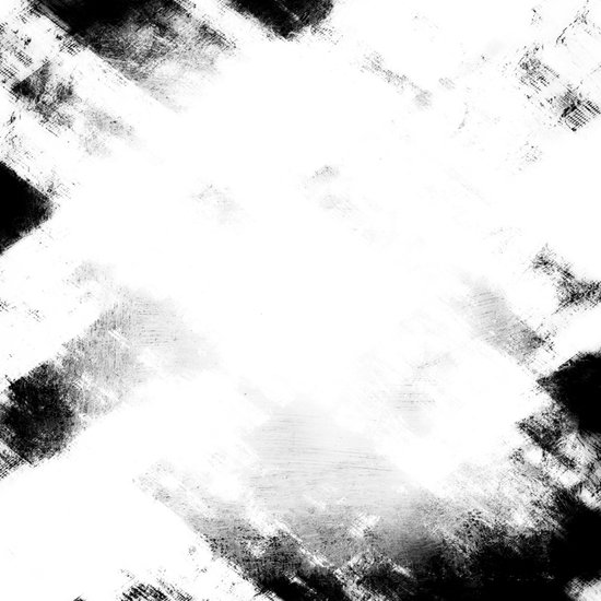 Black & White Abstract Series ~ 2 Art Print