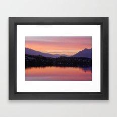 Queenstown, NZ Framed Art Print
