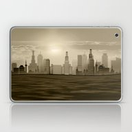 The City Waking Up Laptop & iPad Skin