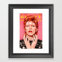 Ziggy Framed Art Print