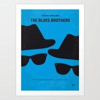 No012 My Blues Brothers … Art Print