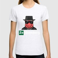 Zoidsenberg Womens Fitted Tee Ash Grey SMALL