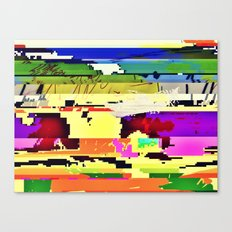 Paint On The Monitor #2 Canvas Print