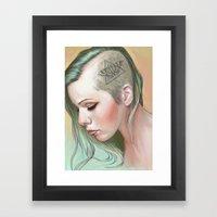 Caudal Lure Framed Art Print