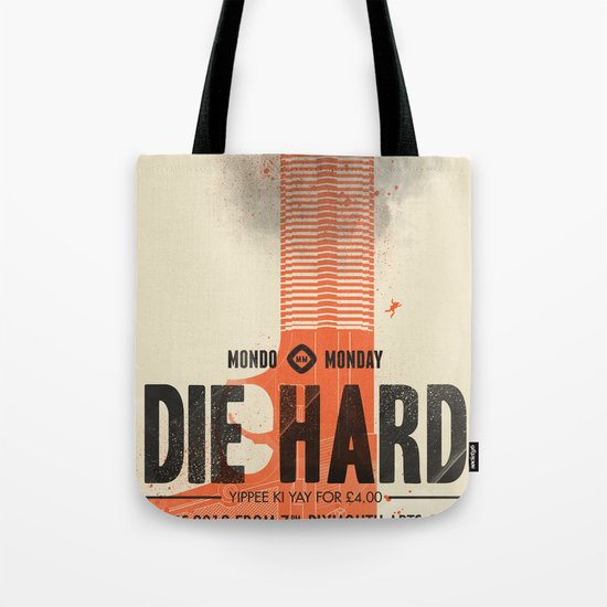 Die Hard (Full poster variant) Tote Bag