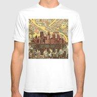 T-shirt featuring Pittsburgh City Skyline by Bekim ART