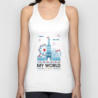 My world Unisex Tank Top