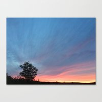 Airwaves Canvas Print