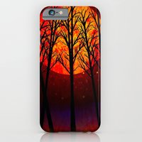 iPhone & iPod Case featuring A SOLSTICE MOON - 118 by Lazy Bones Studios