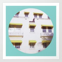Miami Beach 3 Art Print
