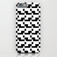Blankaart Black & White Pattern iPhone 6 Slim Case