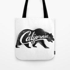 California Bear Stamp Tote Bag