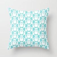 NGWINI - Penguin Love Pa… Throw Pillow