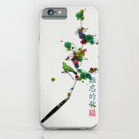 iPhone & iPod Case featuring A love song/一支难忘的歌 by i am gao