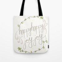 Happy Happy Joy Joy Tote Bag