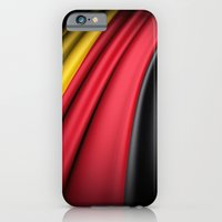iPhone & iPod Case featuring Flag of Germany by Lulla