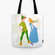 Tote Bag featuring PETER & WENDY by Eriicms