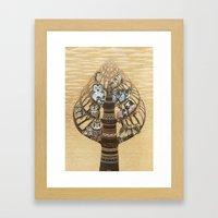 Owls Hotel Framed Art Print