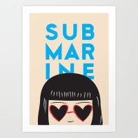 Submarine Art Print