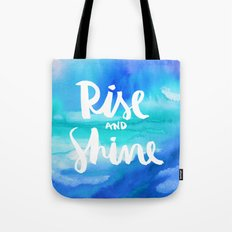 Rise And Shine - Collaboration by Jacqueline Maldonado and Galaxy Eyes Tote Bag