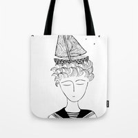 Dreamer On Board Tote Bag