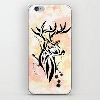 Stag Tribal  iPhone & iPod Skin