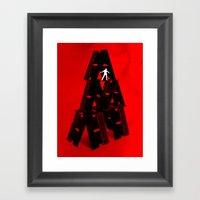 Razor's Edge Framed Art Print