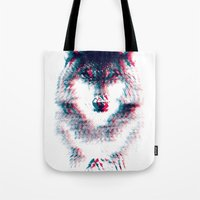 Act like a wolf.  Tote Bag