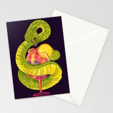 Viper on a Diet Stationery Cards