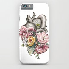 Floral Anatomy Heart iPhone 6 Slim Case